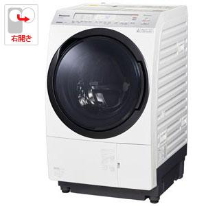 (標準設置料込)NA-VX800AR-W パナソニック 11.0kg ドラム式洗濯乾燥機【右開き】クリスタルホワイト Panasonic VXシリーズ [NAVX800ARW]