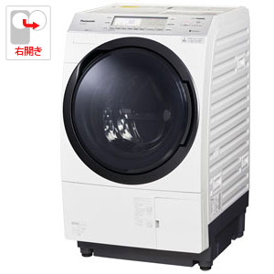 (標準設置料込)NA-VX700AR-W パナソニック 10.0kg ドラム式洗濯乾燥機【右開き】クリスタルホワイト Panasonic VXシリーズ [NAVX700ARW]