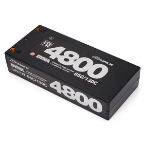 DYNA LiPoバッテリー 7.4V 4800mAh(ショートサイズ)【GFG006】 G-FORCE