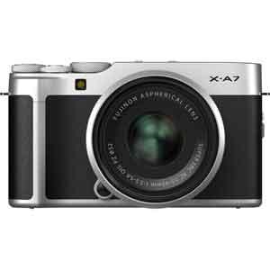 FX-A7LK-S 富士フイルム ミラーレス一眼カメラ「FUJIFILM X-A7」レンズキット(シルバー)