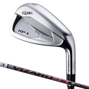 TW-XP1-6-10-R 本間ゴルフ ツアーワールド XP-1 アイアン 5本セット(#6~#10) VIZARD 43シャフト #6~#10 フレックス:R