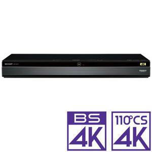 4B-C10BT3 シャープ 1TB HDD/3チューナー搭載 ブルーレイレコーダー4Kチューナー内蔵Ultra HDブルーレイ再生対応 SHARP AQUOS 4K レコーダー