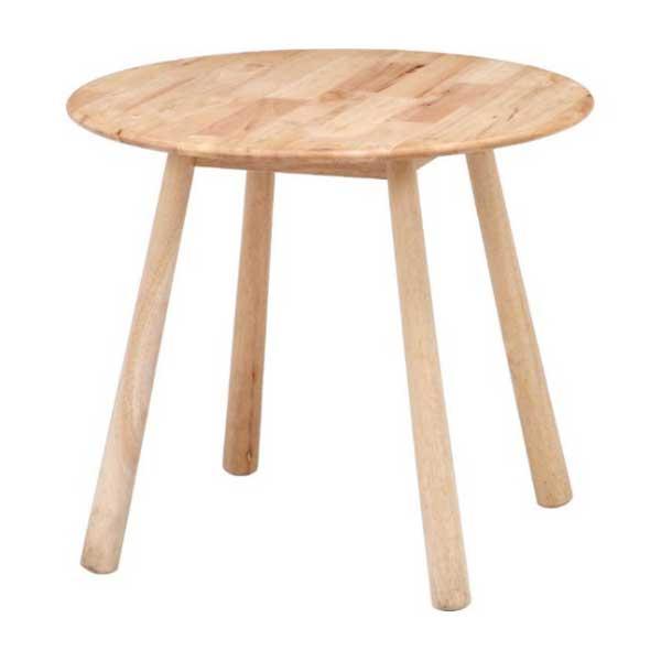 37014 不二貿易 ラウンドテーブル Natural Signature [37014フジボウエキ]