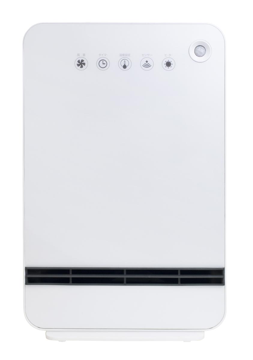 DSF-VN12-W 山善 人感センサー付セラミックファンヒーター(ホワイト) 【暖房器具】YAMAZEN [DSFVN12W]