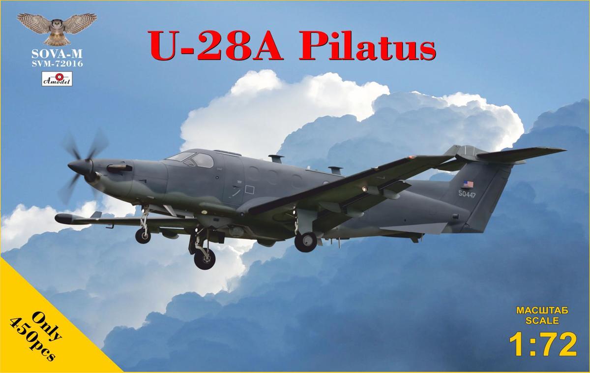 1/72 ピラタス U-28A【SVM72016】 ソヴァ-M