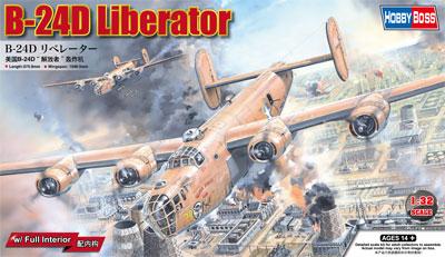 【再生産】1/32 B-24D リベレーター【83212】 ホビーボス