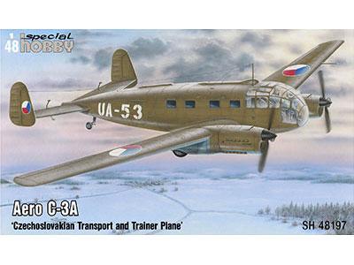 1/48 チェコ・アエロC-3A双発輸送機【SH48197】 スペシャルホビー