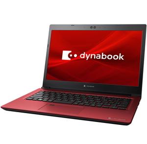 P1S6LPBR Dynabook(ダイナブック) 13.3型ノートパソコン dynabook S6(モデナレッド) [Core i5 / メモリ 8GB / SSD 256GB / Microsoft Office 2019]