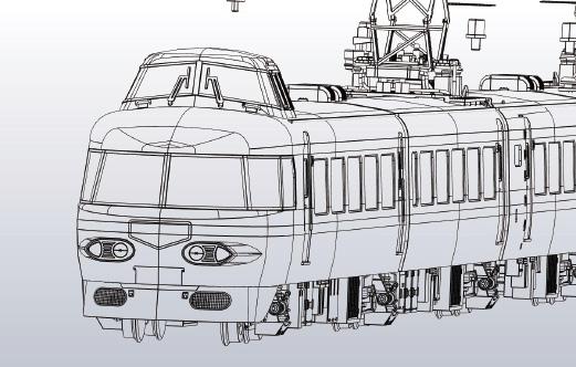 [鉄道模型]エンドウ (HO)EI0021 小田急3100形NSE冷房強化前 基本Aセット