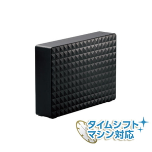 SGD-MY060UBK Seagate USB3.2(Gen1)/USB3.0接続 外付けハードディスク 6.0TB(ブラック) Expansion