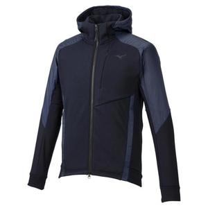 MIZUNO メンズストレッチフリースヘビージャケット(ディープネイビー・サイズ:L) 32MC955414L ミズノ