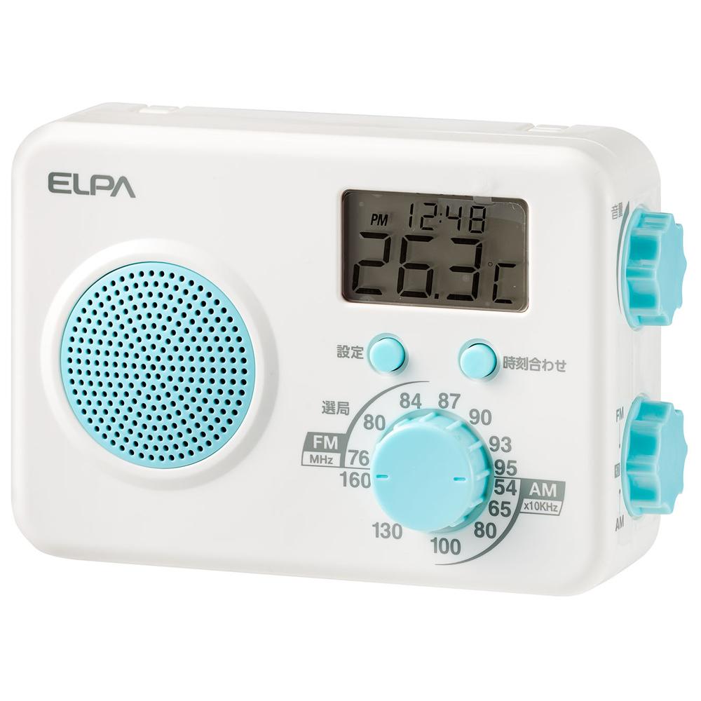 <title>ER-W40F ELPA AM FMシャワーラジオ 高級な</title>