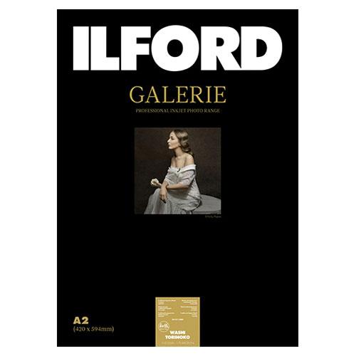 422165 イルフォード インクジェット用紙 和紙 鳥の子 厚手 テクスチャードマット面 A2 25枚 ILFORD GALERIE Washi Torinoko ギャラリー ファインアート和紙