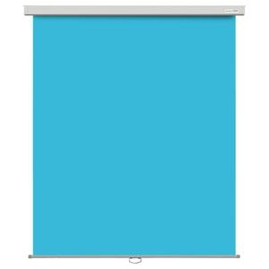 HBS-KFP1518BL ハクバ バックスクリーンFP フェルトタイプ 【防炎】壁掛式 150×180(ブルー) HAKUBA