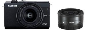 EOSM200BK-WLK キヤノン ミラーレス一眼カメラ「EOS M200」ダブルレンズキット(ブラック)