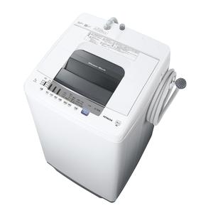 (標準設置料込)NW-70E-W 日立 7.0kg 全自動洗濯機 ピュアホワイト HITACHI [NW70EW]
