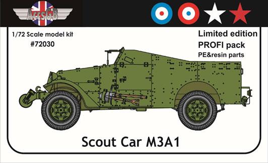 1/72 ホワイト M3A1 スカウトカー プロフィパック【AGB72030】 アクセサリーズ・グレートブリテン