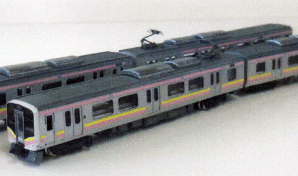 [鉄道模型]パーミル (N) Ns035 JR東日本E129系A編成 ペーパーキット