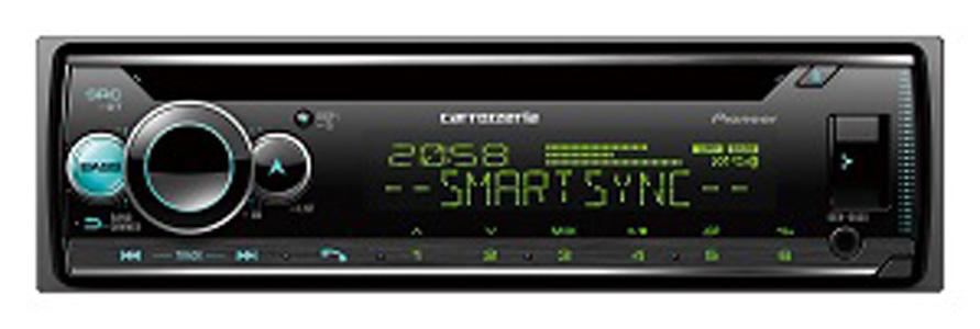 DEH-6600 パイオニア CD/Bluetooth/USB/チューナー・DSPメインユニット carrozzeria(カロッツェリア)