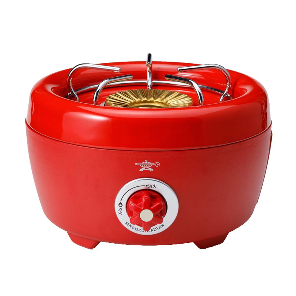 SAG-HB01-R アラジン ポータブルガスカセットコンロ ヒバリン レッド Aladdin Portable Gas Series [SAGHB01R]