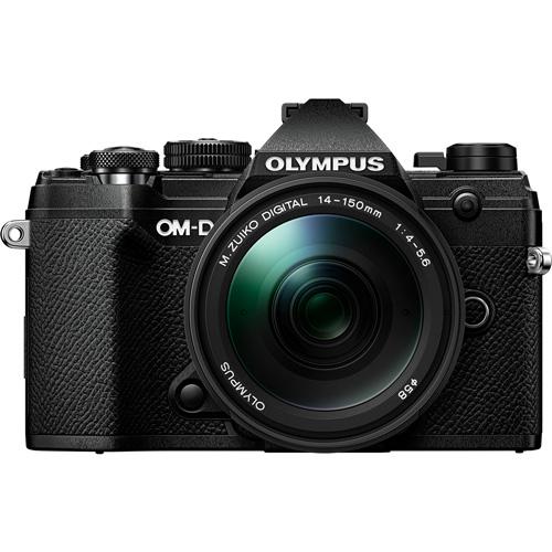 E-M5-MK3-14150K(BLK) オリンパス ミラーレス一眼カメラ「OLYMPUS OM-D E-M5 Mark III」 レンズキット(ブラック)