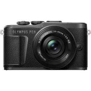 E-PL10-レンズキツト(ブラツク オリンパス ミラーレス一眼カメラ「OLYMPUS PEN E-PL10」レンズキット(ブラック)