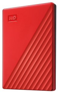 WDBYVG0020BRD-JESN ウエスタンデジタル USB3.0対応 ポータブルハードディスク 2.0TB (レッド)【My Passport2019】 My Passport