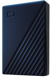 WDBA2F0050BBL-JESN ウエスタンデジタル USB3.0対応 ポータブルハードディスク 5.0TB (ブルー)【My Passport2019】 My Passport for Mac