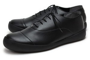 CJFC7114-BLK-M RegettaCanoe フラットカヌーメンズビジネスシューズ(レースアップ)(ブラック・サイズ:M) 短靴 サイズ目安:26.0-26.5