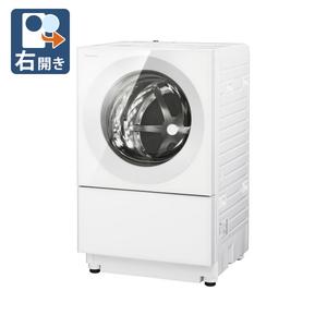 (標準設置料込)NA-VG740R-W パナソニック 7.0kg ドラム式洗濯乾燥機【右開き】マットホワイト Panasonic Cuble(キューブル) [NAVG740RW]