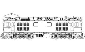 [鉄道模型]トラムウェイ (HO) TW-ED71-1WA ED71-第1次量産形(前灯1灯、二両セット)