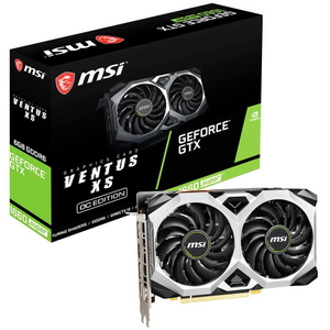GTX1660SUPERVENXSOC MSI PCI-Express 3.0 x16対応 グラフィックスボードMSI GeForce GTX 1660 SUPER VENTUS XS OC