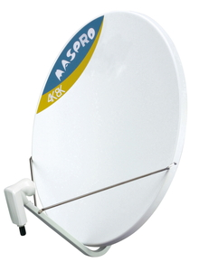 BC75RL マスプロ 4K・8K衛星放送対応 BS・110°CSアンテナ【口径75cm型】