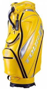 CBG012YE ブリヂストンゴルフ キャディバッグ 総エナメルモデル(黄・9.5型) BRIDGESTONE GOLF TOUR B