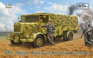 1/35 伊・ランチャア3Ro重トラック・カーゴタイプ・ドイツ軍仕様【PB35054】 IBG