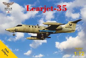 1/72 リアジェット-35「フェニックスエア」【SVM72019】 ソヴァ-M