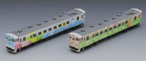 [鉄道模型]トミックス (Nゲージ) 98076 JR キハ40 1700形ディーゼルカー(道南 海の恵み・道央 花の恵み)セット