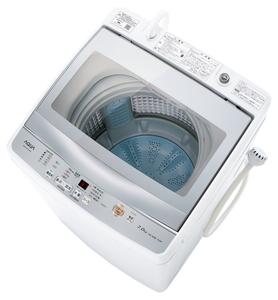 (標準設置料込)AQW-GP70H-W アクア 7.0kg 全自動洗濯機 ホワイト AQUA [AQWGP70HW]