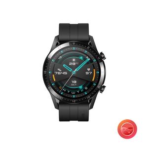 WATCH GT2 SEAL限定商品 46MM BK HUAWEI 品質保証 ファーウェイ スマートウォッチ マットブラック Black 46mm Watch WATCHGT246MMBK Matte 返品種別A スポーツモデル