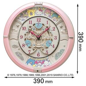 CQ222P セイコータイムクリエーション 掛け時計 2020新作 サンリオキャラクターズ characters 返品種別A Sanrio [ギフト/プレゼント/ご褒美] サンリオキャラクターズからくり時計