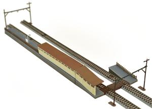 本日限定 鉄道模型 トミーテック N 建物コレクション 豊富な品 020-3 駅複線化対応ホームセット3