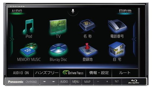 CN-RX06D パナソニック 7.0型 Blu-ray対応 地デジチューナー搭載カーナビステーション Panasonic strada(ストラーダ)