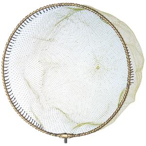 824-2 昌栄 ウルトラフレーム 極 ワンピース網付き 40cm 網付き(ゴールド) SIYOUEI タモ