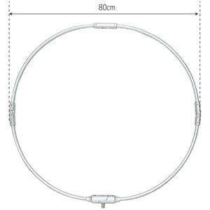 208 昌栄 四つ折鯉用玉網枠 80cm SIYOUEI タモ枠 タモフレーム