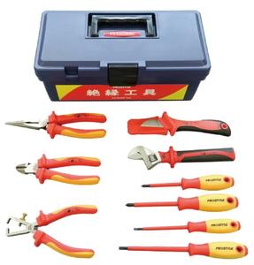 542224 フローバル 絶縁工具 Fセット(9点入り) PROSTYLE TOOL 絶縁工具 / PZ SET F