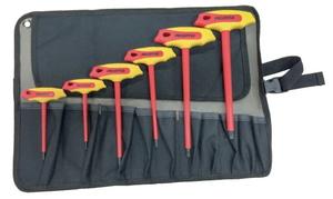 542230 フローバル 絶縁T型六角棒レンチセット(6点入り) PROSTYLE TOOL 絶縁工具 / PZ SET L