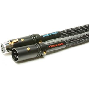 XLR-1.0TripleC-FM(1.4-1.8) アコースティックリバイブ XLRケーブル(1.0m・ペア)【1.4 x 1.8mm 導体仕様】 ACOUSTIC REVIVE