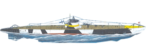 1/72 フィンランド・CV-707ヴェシッコ小型潜水艦【SN72004】 スペシャルホビー