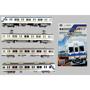 [鉄道模型]南海電気鉄道株式会社 (N) 鉄道コレクション 南海3000系 基本4両セット