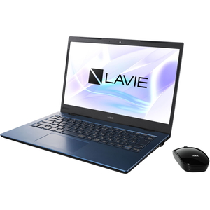 PC-HM750PAL NEC LAVIE Home Mobile HM750/PA(ネイビーブルー)- 14.0型モバイルノートパソコン [Core i7 / メモリ 8GB / SSD 512GB / Microsoft Office 2019]